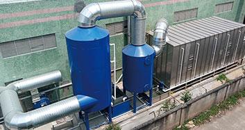 惠州大亚湾爱森家俬有限公司喷漆废气治理工程