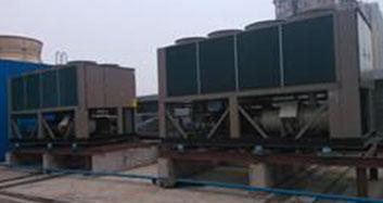 美影广场中央空调室外机噪声处理工程