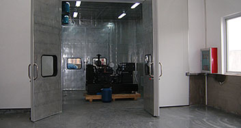 dafacasino达宝广场发电机尾风噪声治理工程