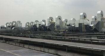 深圳比亚迪股份有限公司生产车间废气治理工程